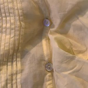 Aritzia Tops - Aritzia Lace and Pleated Blouse